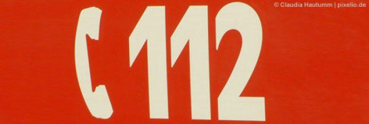 Notruf Nummer 112